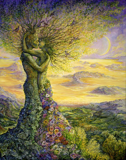 Nature's Embrace by Josephine Wall